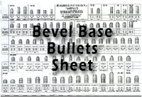 Bevel Base Bullets Sheet